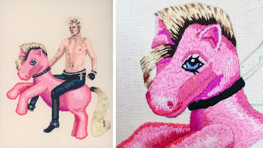2 Nicole O'Loughlin_Mony Mony Ride Your Pony_collage