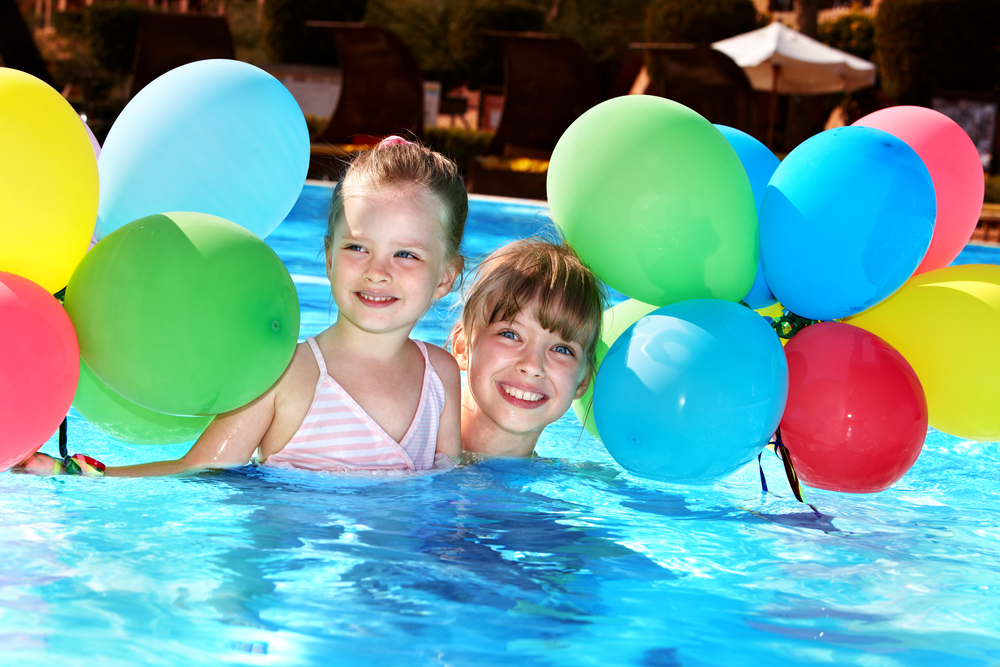 Girls in Pool - Splish Splash Party Package