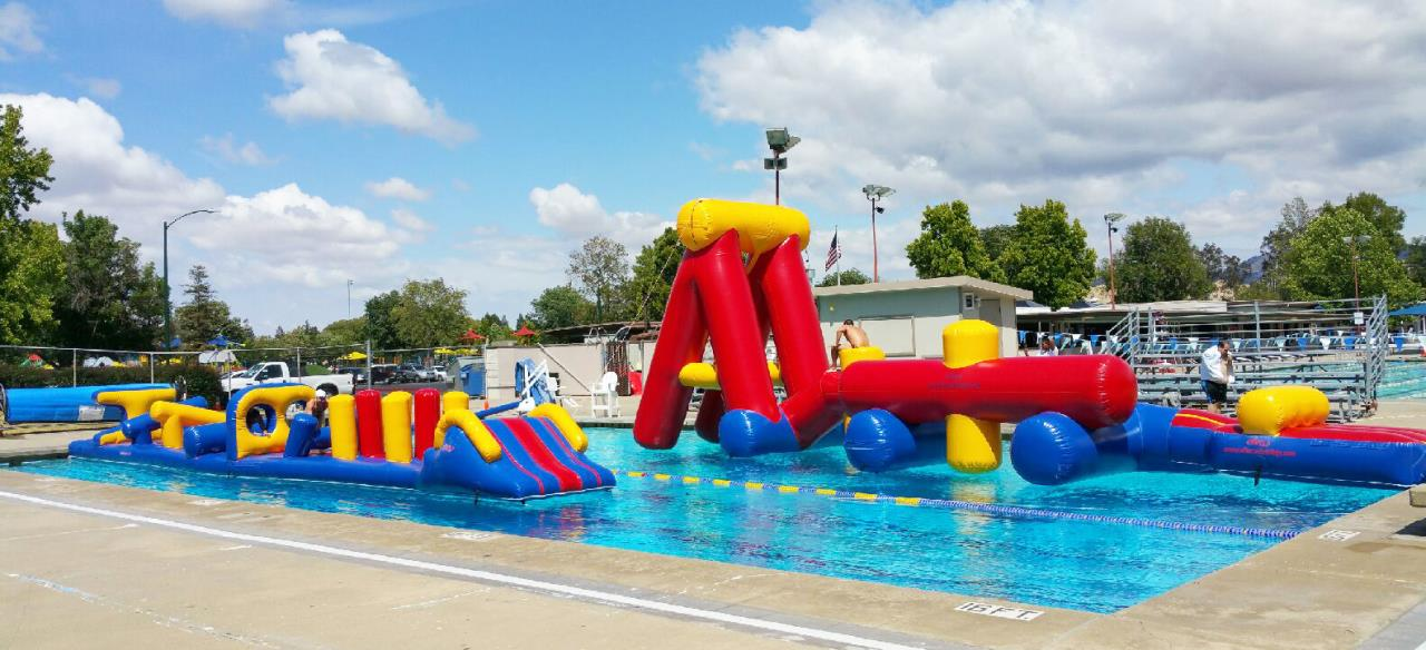 Aquatics Obstacle Course