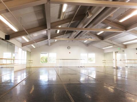 Shadelands Art Center Dance Studio
