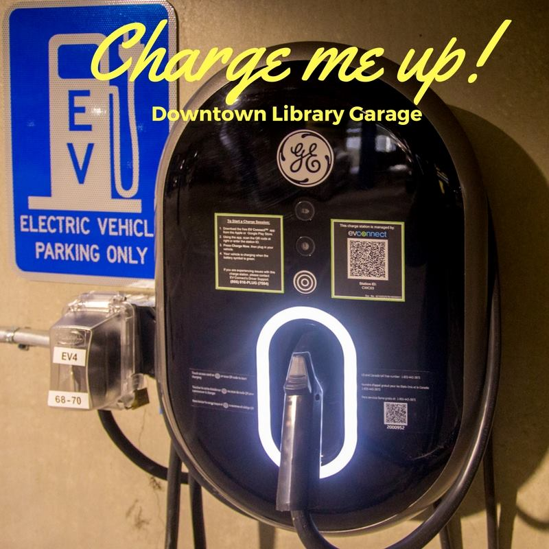 Photo of the EV Chargers