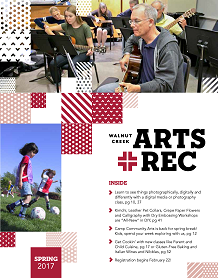 Walnut Creek Civic Arts And Education 2017 Spring Classes