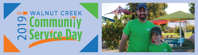 Image result for 2019 walnut creek community service day