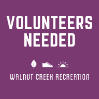 Walnut Creek Rec Volunteers Needed