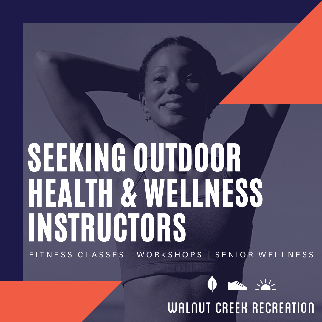 Outdoor wellness instructors social posts