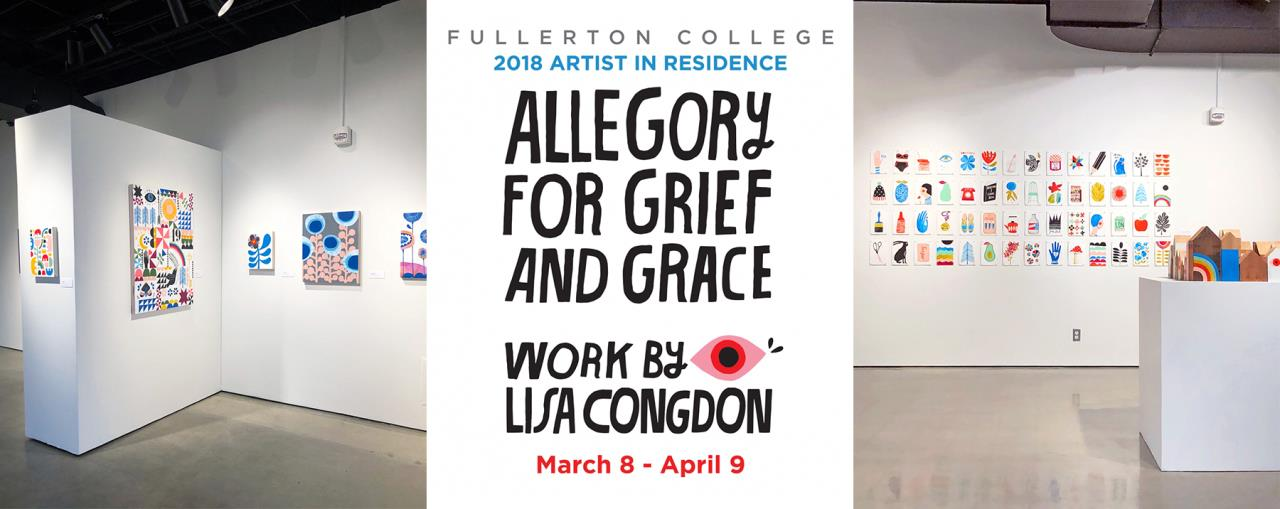 Lisa Congdon_Fullerton show collage