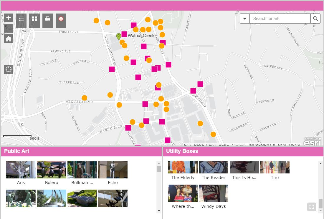 public art web map_screenshot